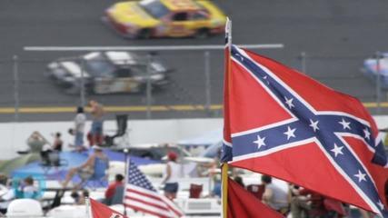NASCAR Fans Defend Confederate Flag at Daytona