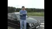 Пародия на Topgear Mersedes E240