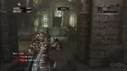 Gears of War 3 Gameplay Beast Mode E3 2010