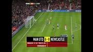 Манчестър Юнайтед - Нюкасъл 6 - 0 ( Тевез )