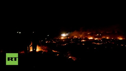 France: Calais 'Jungle' refugee camp goes up in flames