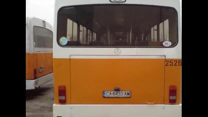 Автобус 2526 - г-ж Малашевци