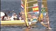 Уиндсърфистите пробваха залива Гуанабара в Рио