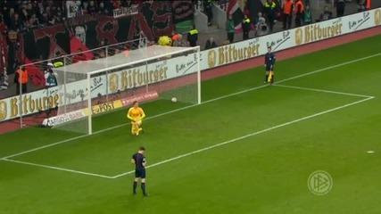 Байерн Мюнхен елиминира Леверкузен и е на полуфинал за Купата