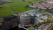 Stay at the first UNDERGROUND RESORT in the world at Shanghai InterContinental