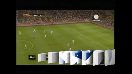 4 гола на Ибрахимович за 4-2 на Швеция срещу Англия на новия стадион в Стокхолм