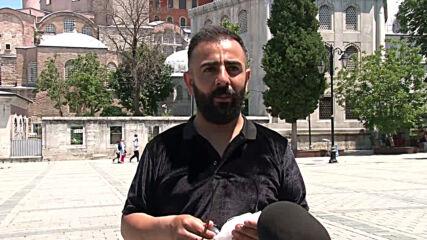 Turkey: Istanbul residents react to Hagia Sophia mosque conversion delay