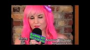 Audrey Kitching Talks Make Up With Eric Bl