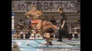G1 CLIMAX Riki Choshu, Masahiro Chono, Yujiro & Tetsuya Naito vs. Jado, Gedo, Tomohiro Ishii & Tomoaki Honma