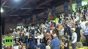 USA: Migration protesters crash Jeb Bush's campaign launch