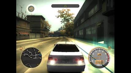 Nfs Mw - Ша карам камион, полицейска джипка, и още един камион (част 1)