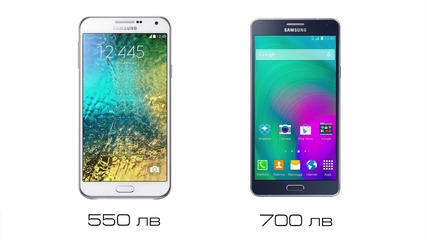 Samsung Galaxy E7 Vs Samsung Galaxy A7