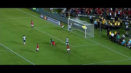 Ашли Йънг с втори гол срещу Ла Галакси