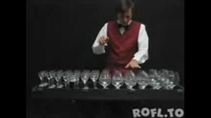 Невероятно! Музика с чаши