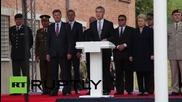 Lithuania: NATO's Stoltenberg opens new HQ in Vilnius