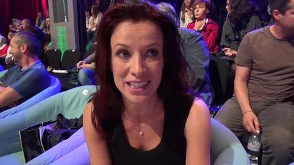Dancing Stars - Яна Маринова подкрепя Дарин и Ани (03.06.2014г.)