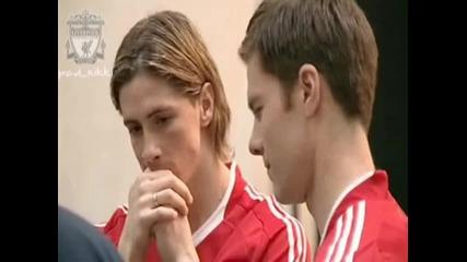 Футболистите на Ливърпул заснемат реклама за Адидас [ Високо Качество ]