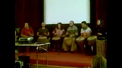 Djembe Workshop@bulgaria, Sofia 2