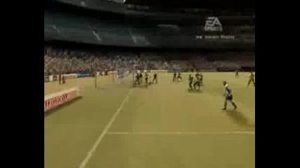 Малко голове и финтове на Fifa 2007