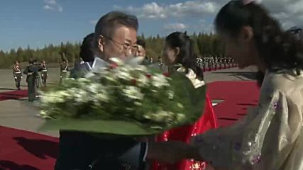 North Korea: Moon departs North Korea after third summit with Kim