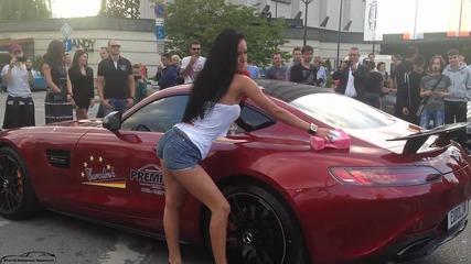 Еротична автомивка в центъра на София ! (///amg Gts )