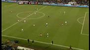 Болтън 0 - 2 Манчестър Юнайтед гол на Бербатов