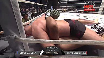 Fedor Emelianenko vs Jeff Monson M1 Global