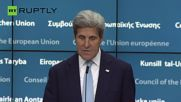 USA 'Stands Squarely' with Turkish Leadership - John Kerry
