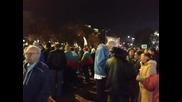 Кадри от протестите 10. 11. 2013 част първа