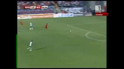 Черна Гора-българия второ полувреме част 2