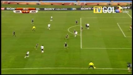 World Cup Германия - Австралия 4:0 - Всички голове!