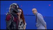 Поглед към костюма на Човекът - Мравка от филма Ант - Мен (2015)