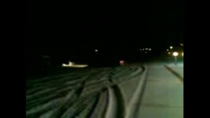 Alfetta Gtv Drift On Snow 2