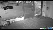 Тъп крадец по време на акция