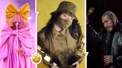 Били Айлиш и Пост Малоун отнесоха наградите на Билборд! Лизо скандализира с тоалет
