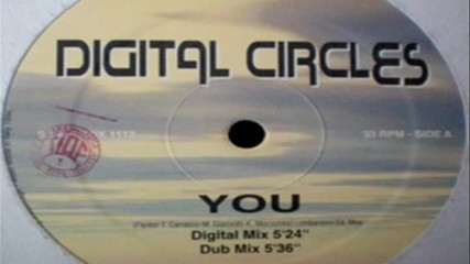 Digital Circles - You Dub Mix ( Italodance 1994 )