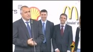 Откриване на бензиностаниция със запалка * Господари на ефира * 05.07.2010