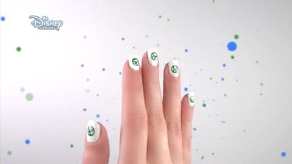 Nail Art Урок: Райли в големия свят