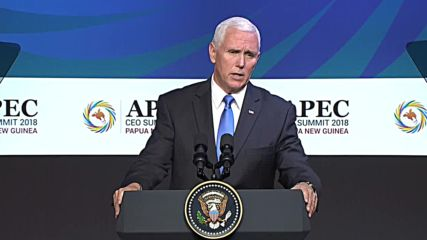 Papua New Guinea: Pence says US could 'double' tariffs on China