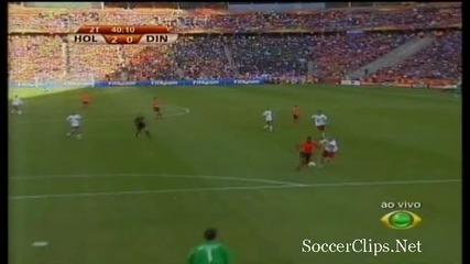 netherlands - 2 - 0 - denmark - kuyt