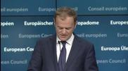 """Туск: """"Северен поток"""" ще увеличи зависимостта на ЕС от руски газ"""