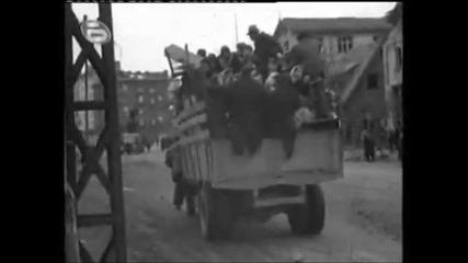 София след бомбардировките на англо - американските терористи от 1943 - 1944 година