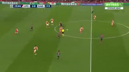 2017 Arsenal vs Bayern