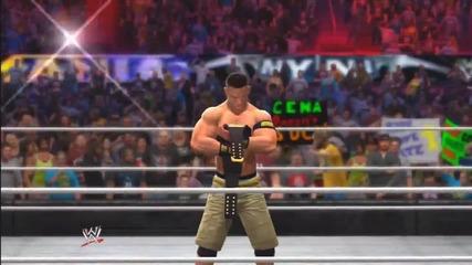 Wwe 2k14_ 30 Years of Wrestlemania - Universe Era - 13 (john Cena vs The Rock - Wm 29)