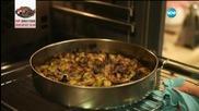 Баница с печени зеленчуци - Бон апети (14.09.2015)