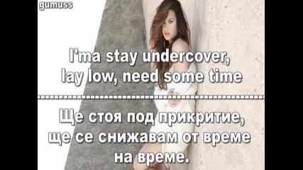 Demi Lovato - Mistake [текст + превод ]