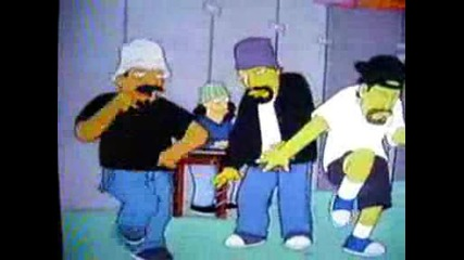 Cypress Hill Гостуват Hа Simpsons