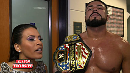 Andrade says he's the face of Latinos in WWE: WWE.com Exclusive, Jan. 26, 2020