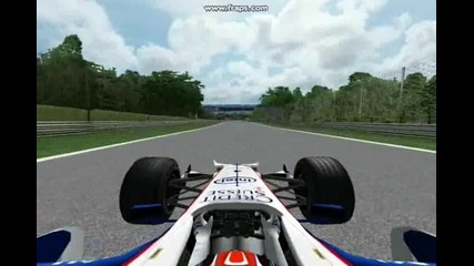 F1 Challange 2008 Bmw Sauber Monza обиколка