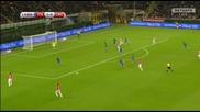 Италия 1:1 Хърватия 16.11.2014